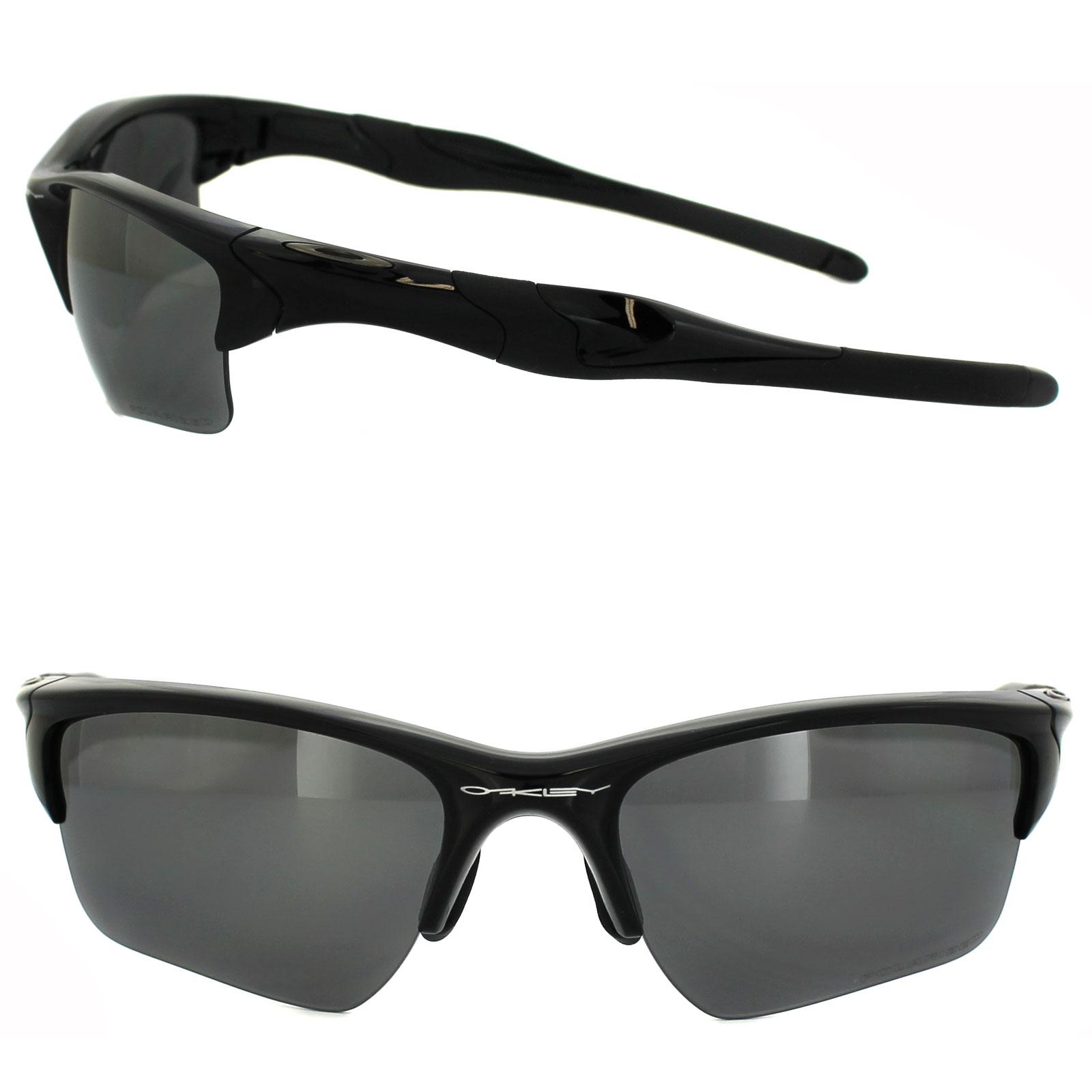 9ff1807e9e Sentinel Oakley Sunglasses Half Jacket 2.0 XL Polished Black Iridium  Polarized OO9154-05