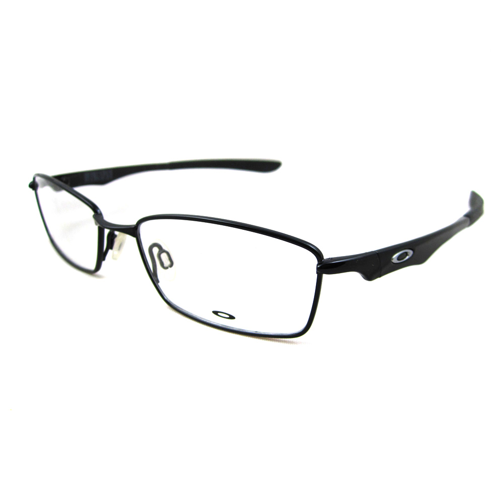 Oakley RX Glasses Prescription Frames Wingspan 504001 Polished Black ...