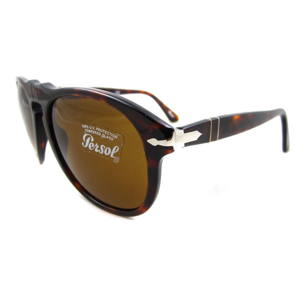 028debe67a35 Persol Sunglasses 0649 24/33 Havana Brown Steve McQueen 54mm ...