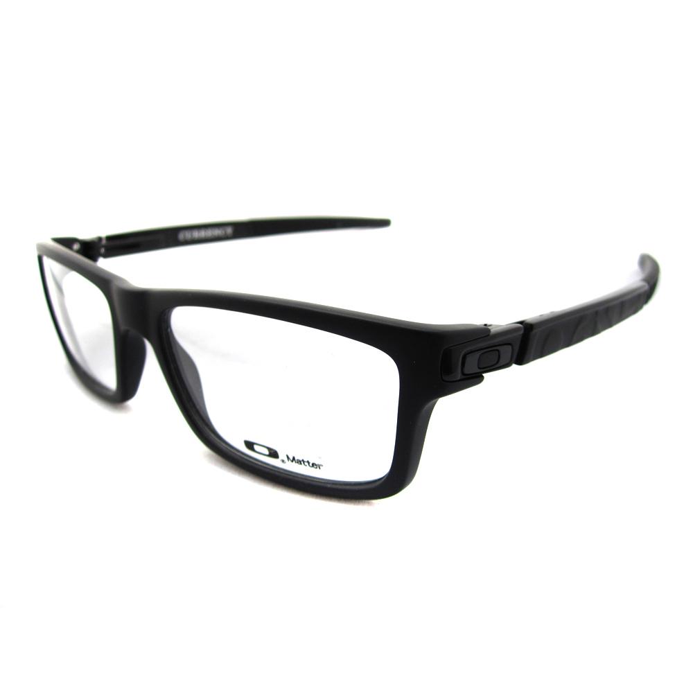 Oakley RX Glasses Prescription Frames Currency 8026-01 Satin Black ...