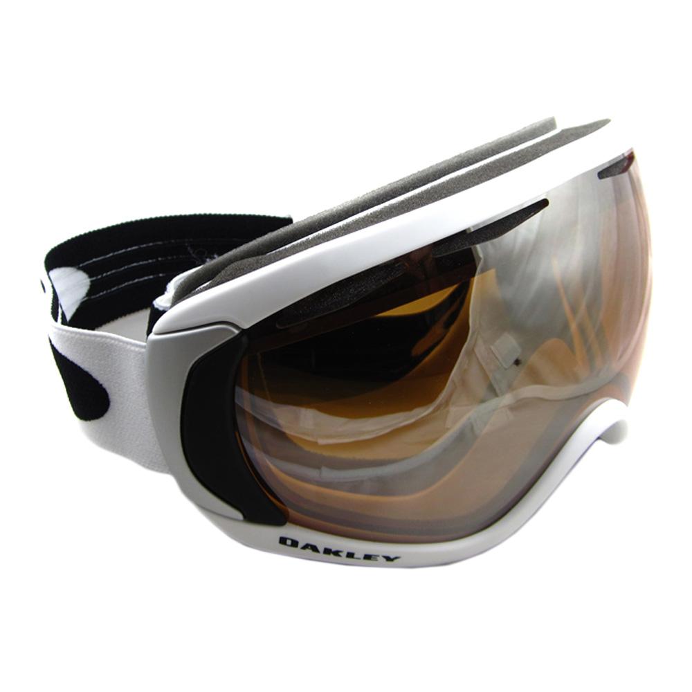 Oakley Ski Snow Goggles Canopy Matte White Black Iridium