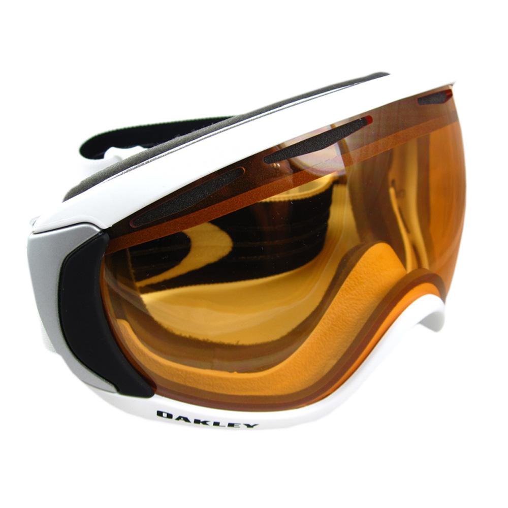 734e5e4bd6c6 Sentinel Oakley Ski Snow Goggles Canopy Matte White Persimmon 57-863