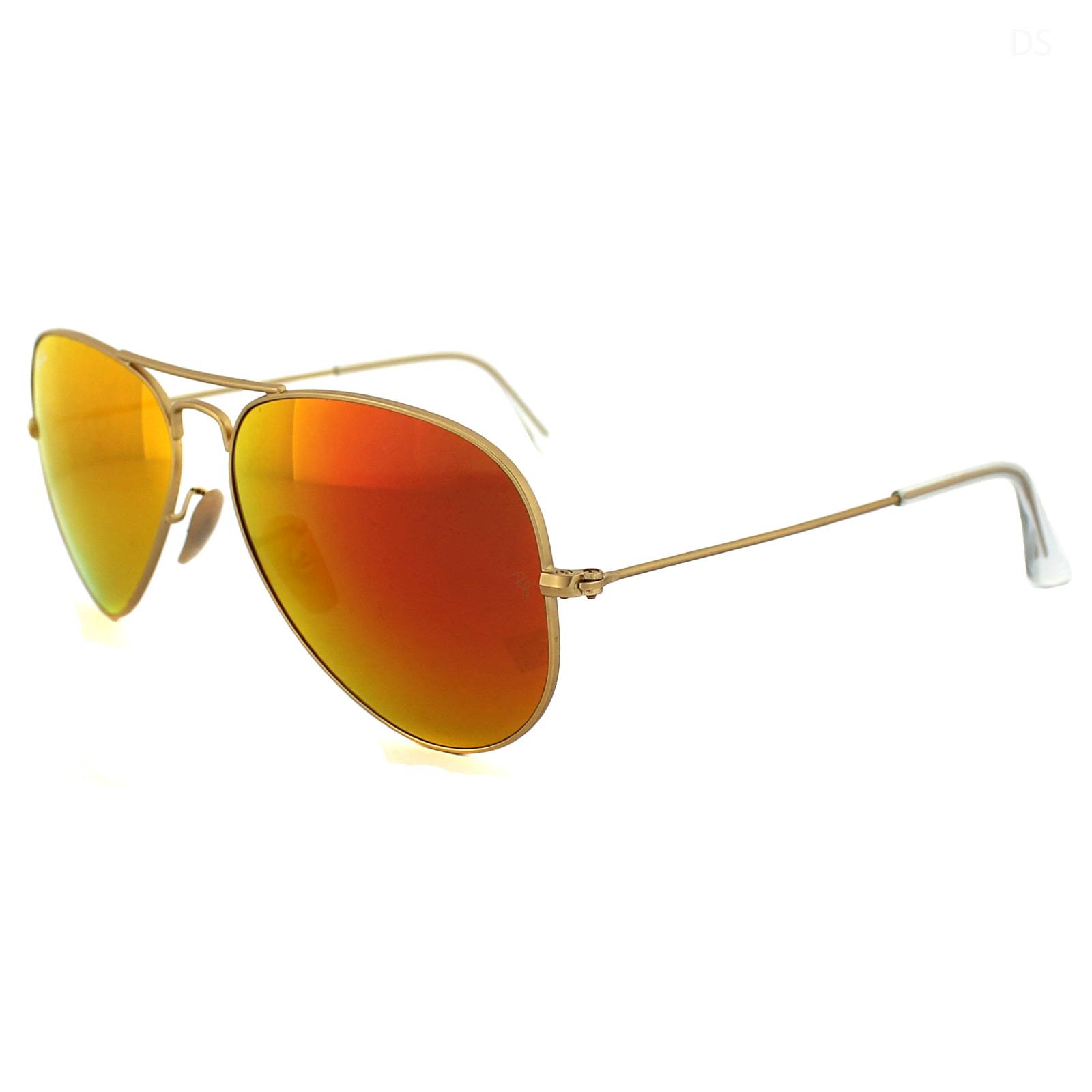 f8619cd99f ... reduced sentinel rayban sunglasses aviator 3025 112 69 matt gold brown  mirror 58mm 2df2c 657b6