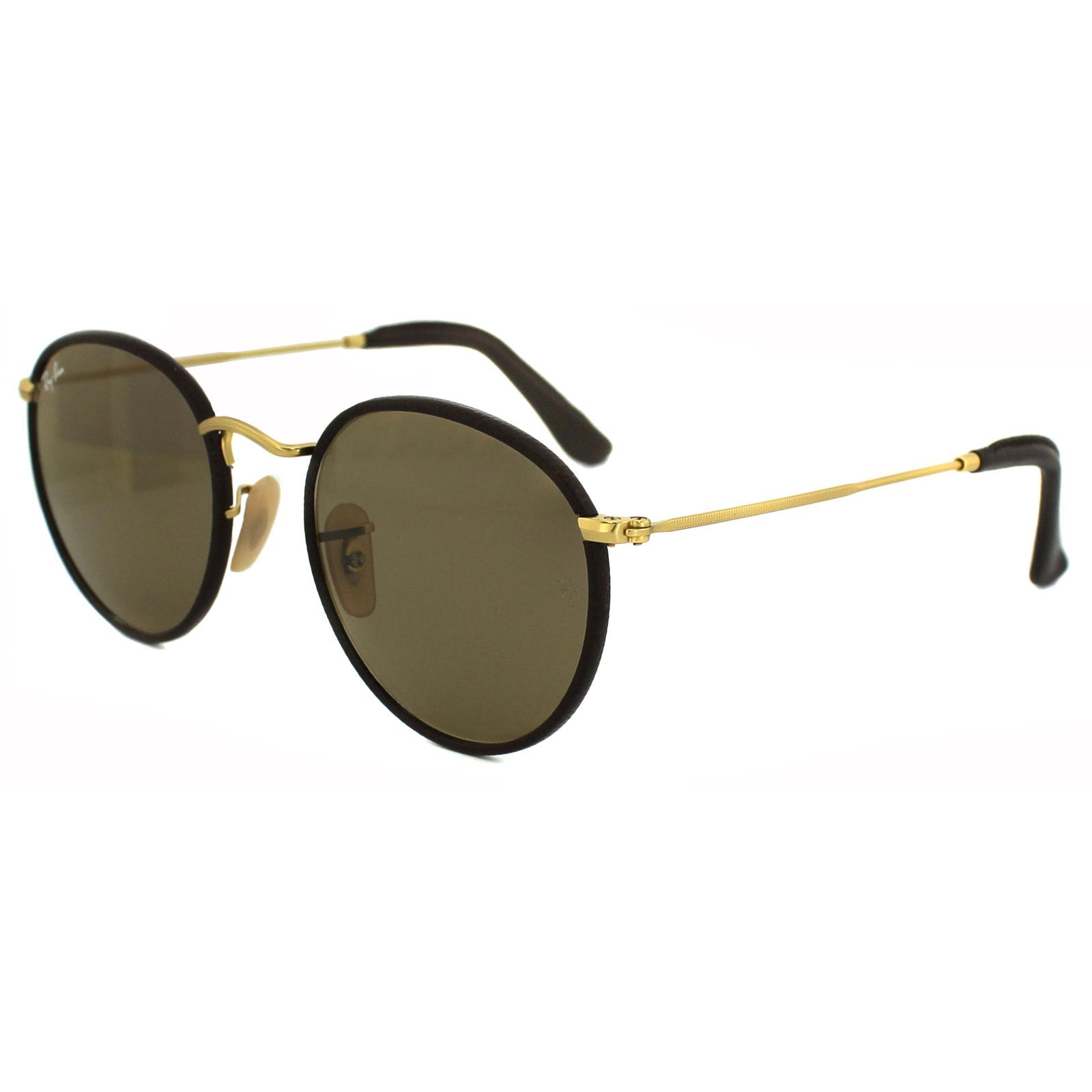 RayBan Sunglasses 3475Q 112 53 Matt Gold Brown 805289751755   eBay 98a1d19573