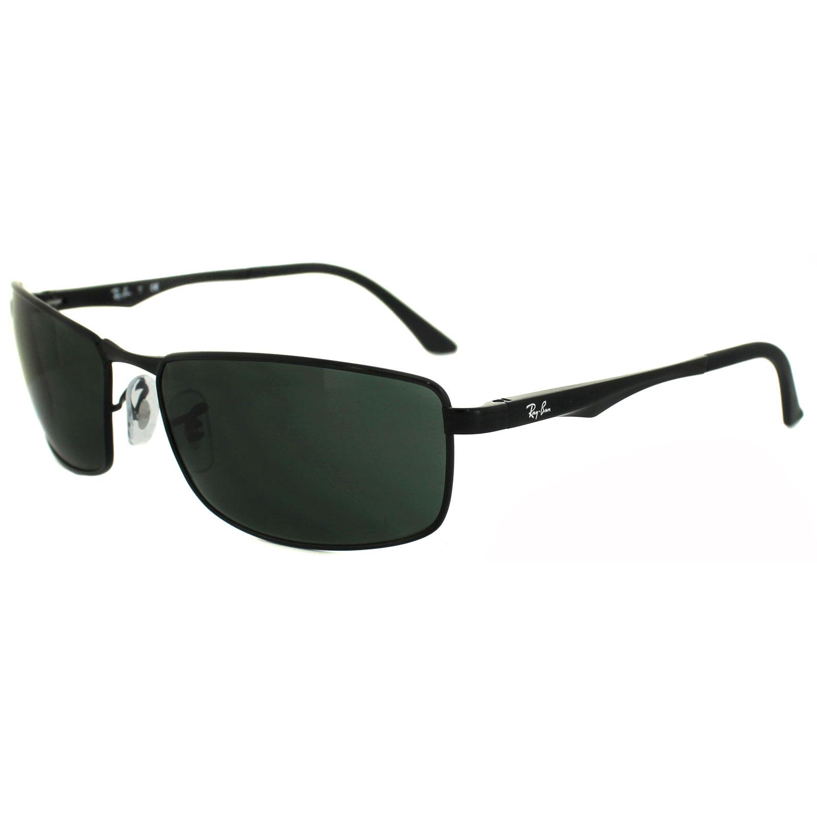 dae8426e21 ... best price sentinel rayban sunglasses 3498 002 71 black green 6208b  4e6d8