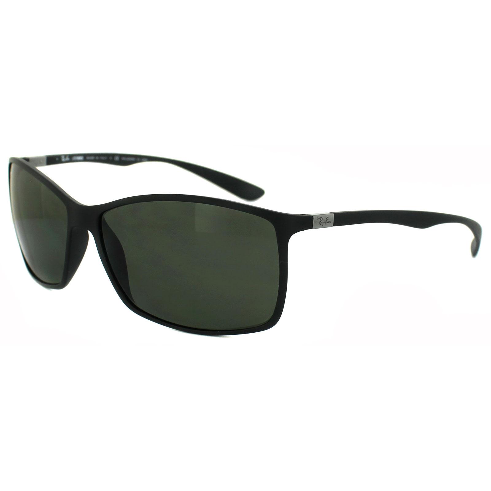 f2b5819f65 Sentinel RayBan Sunglasses 4179 601S9A Matt Black Polarized Green