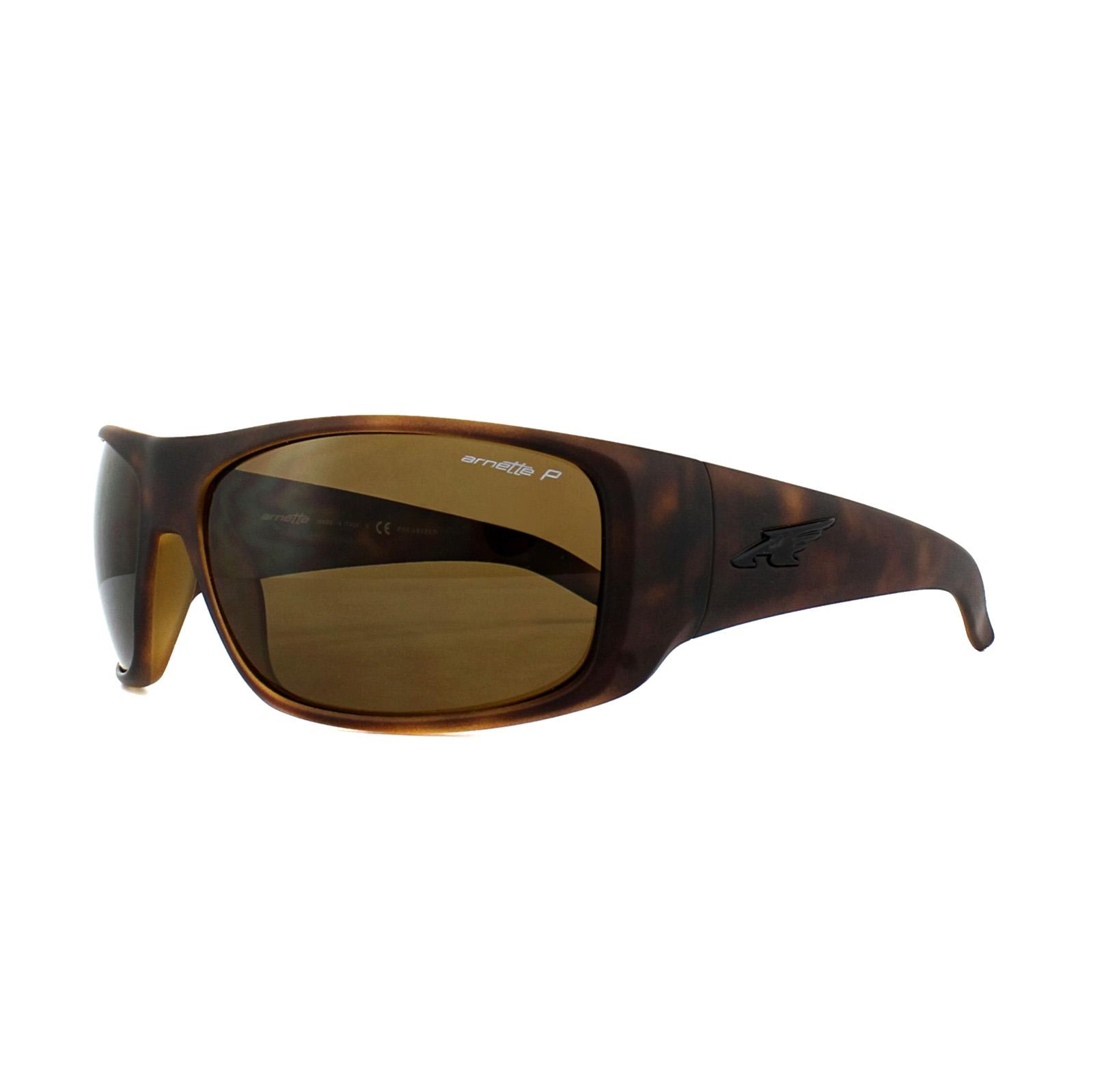 3f89b95458 Sentinel Arnette Sunglasses 4179 La Pistola 215283 Fuzzy Havana Polarized  Brown