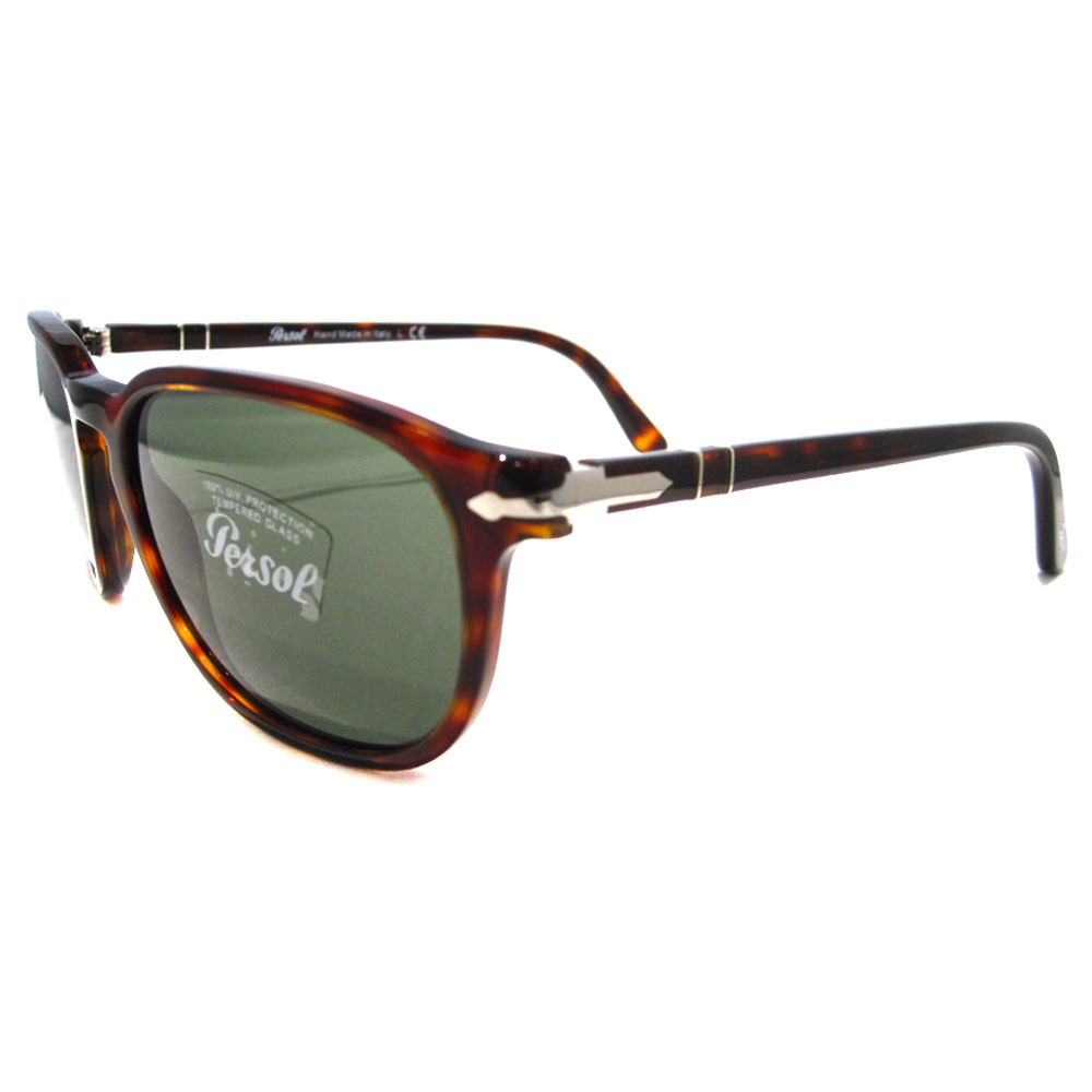 bb80e97d75 Persol Sunglasses 3019 24 31 Havana Green Mens Thumbnail 1 ...