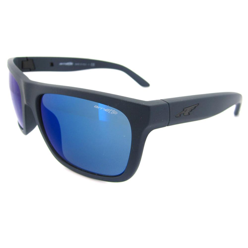67714bbe791 Sentinel Arnette Sunglasses 4176 Dropout 215355 Fuzzy Navy Mirror Blue