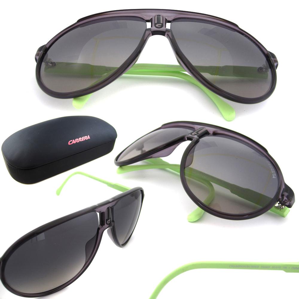 05c2da3c37 Sentinel Carrera Sunglasses Champion Rubber D2Q DX Violet Green Dark Grey  Gradient