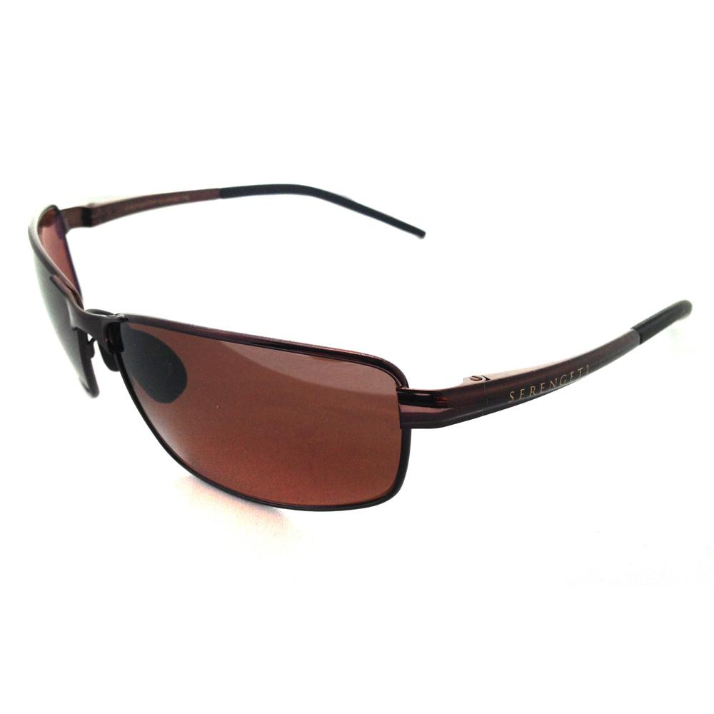 Cheap Serengeti Sunglasses Lizzano 7433 Espresso Driver Brown Polarized Discounted Sunglasses