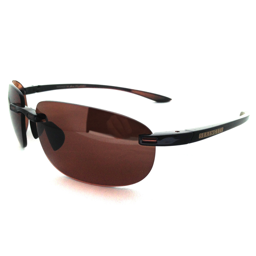 570e6915ad7 Sentinel Serengeti Sunglasses Cielo 7474 Shiny Brown Drivers Polarized
