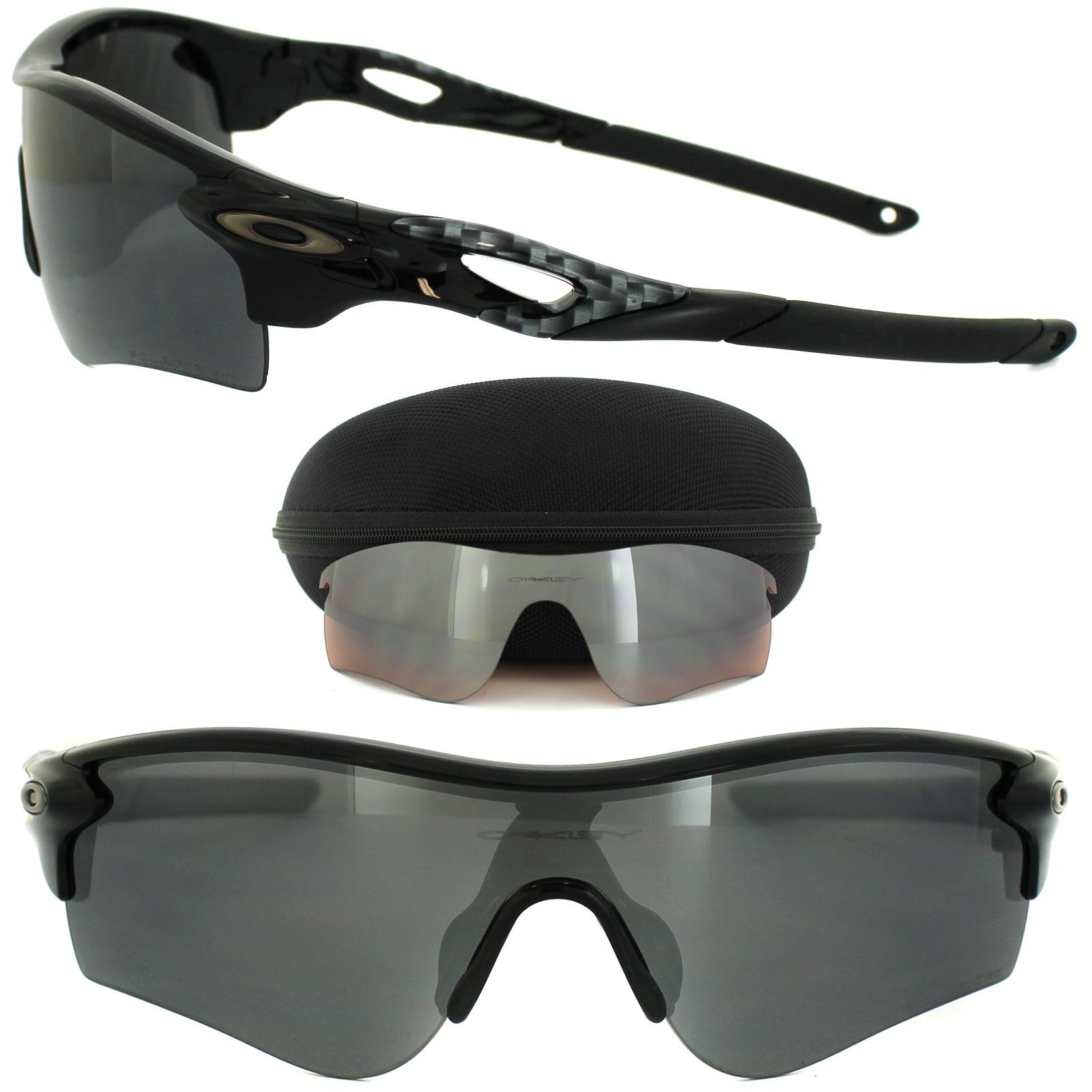 19f3bb3325 Sentinel Oakley Sunglasses Radarlock Path OO9181-12 Shiny Black Black  Iridium Polarized