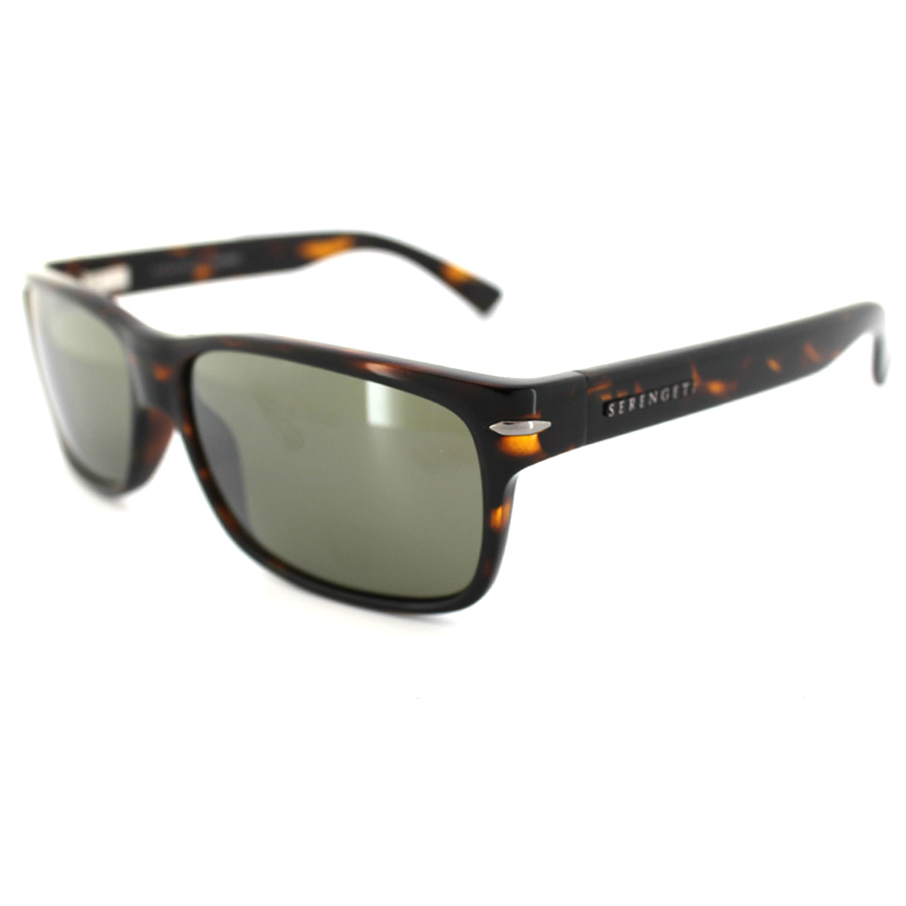 afd4d2752c0a Serengeti Sunglasses Fontana 7423 Dark Tortoise Grey Green Polarized 555nm  Thumbnail 1 ...