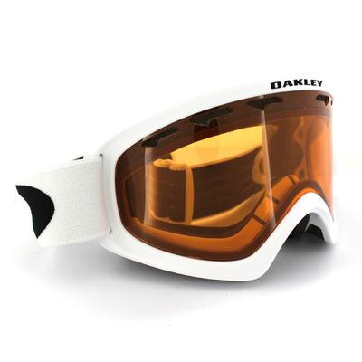 Oakley Ski Snow Goggles 02 XS 59-095 Matte White Persimmon