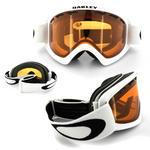 Oakley Ski Snow Goggles 02 XS 59-095 Matte White Persimmon Thumbnail 2