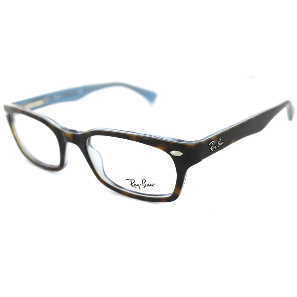 Ray-Ban Glasses Frames 5150 5023 Top Havana On Transparent Azure | eBay