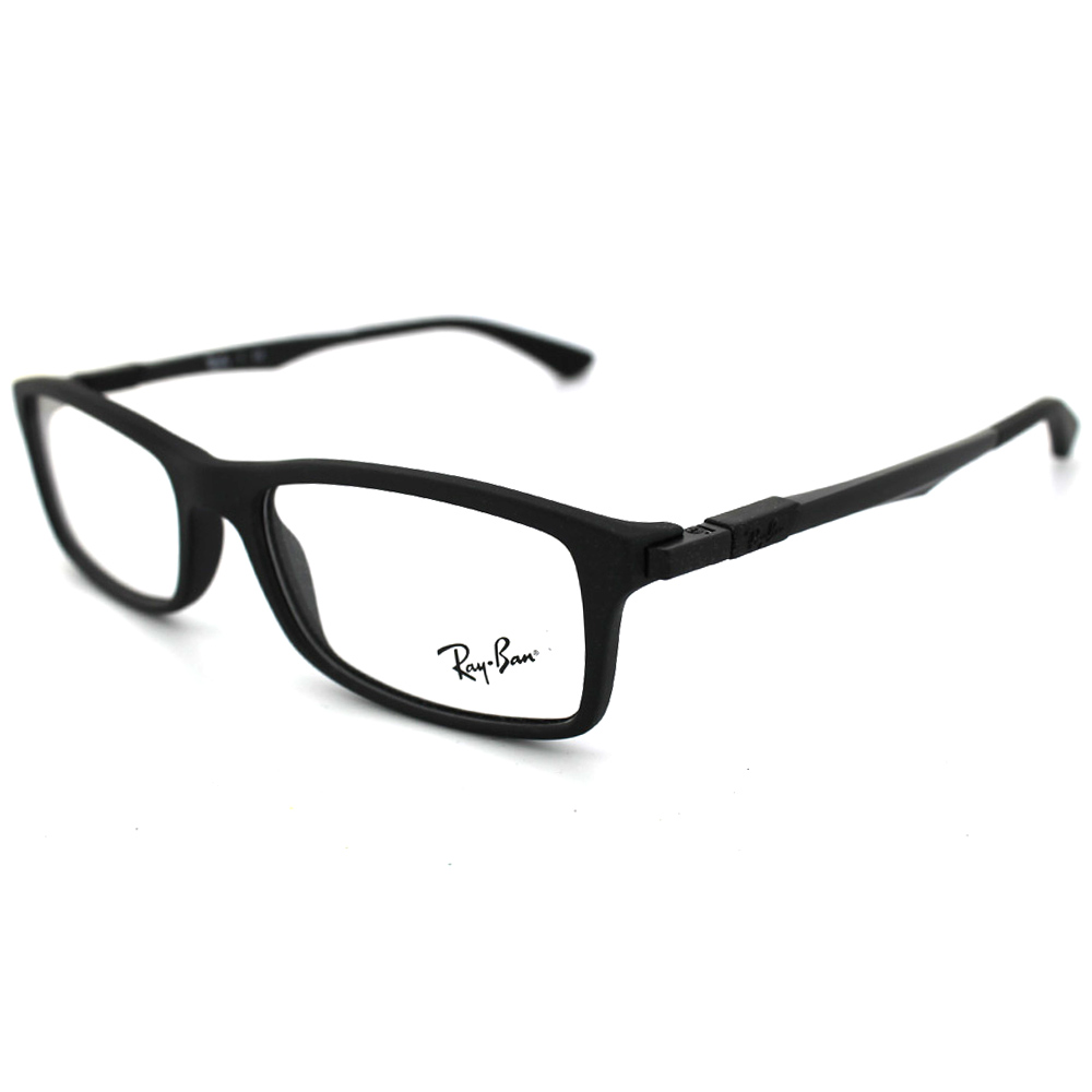 ad87c6156c Details about Ray-Ban Glasses Frames 7017 5196 Matt Black