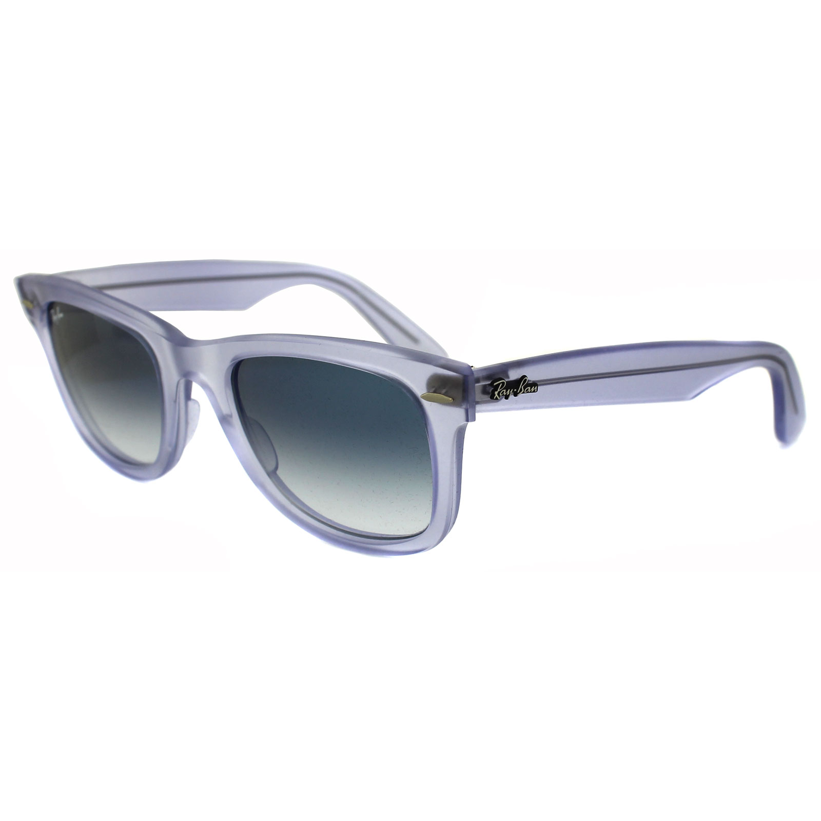 443edf5b49 Sentinel Ray-Ban Sunglasses Wayfarer 2140 60603F IcePop Grape Lilac Blue  Grey Gradient M