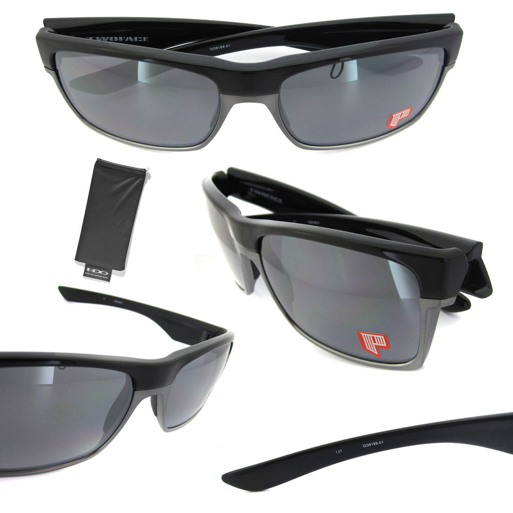 8c728b45de ... cheap sentinel oakley sunglasses twoface polished black black iridium  polarized oo9189 01 9dfd4 df1fc