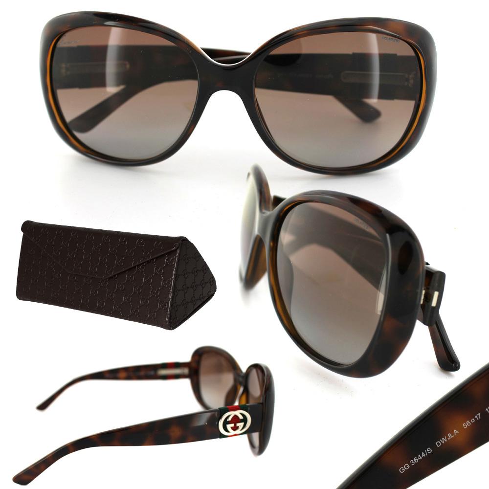 1603de409e4 Sentinel Gucci Sonnenbrille 3644 DWJ LA Braun Havanna Braun Polarisiert