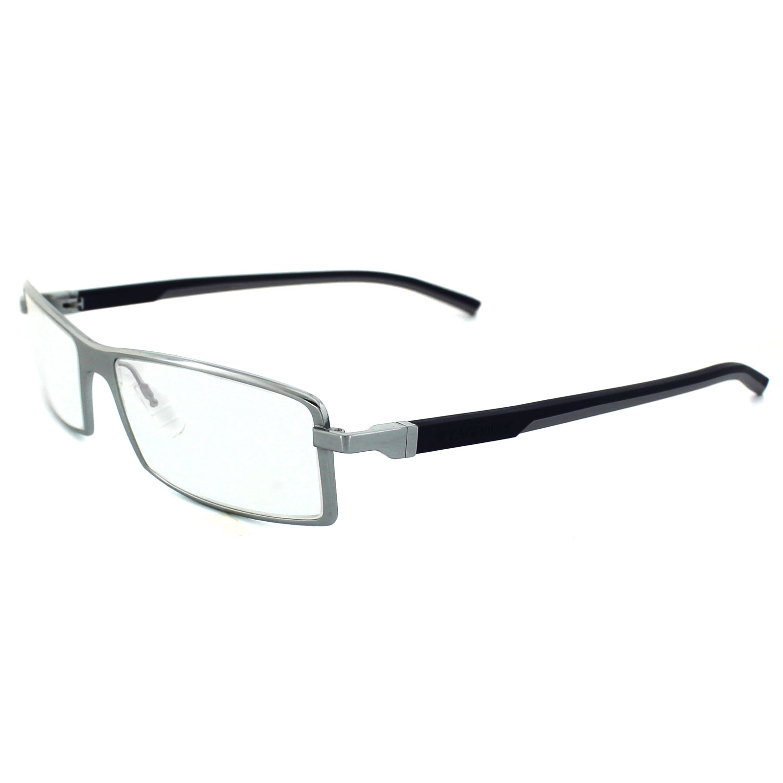Tag Heuer Glasses Automatic 0802 004 Pure Rahmen Blau & Grau Temples ...