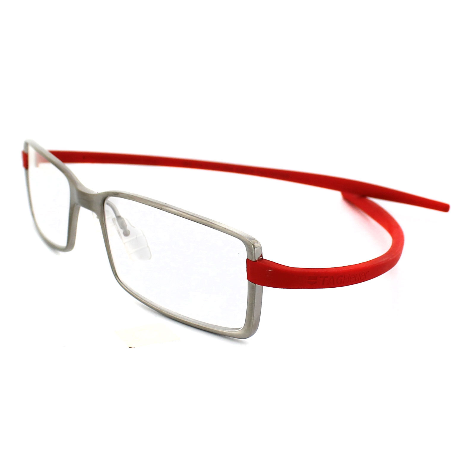 Tag Heuer Glasses Frames Reflex 2 3703 004 Pure Frame Red Temples | eBay