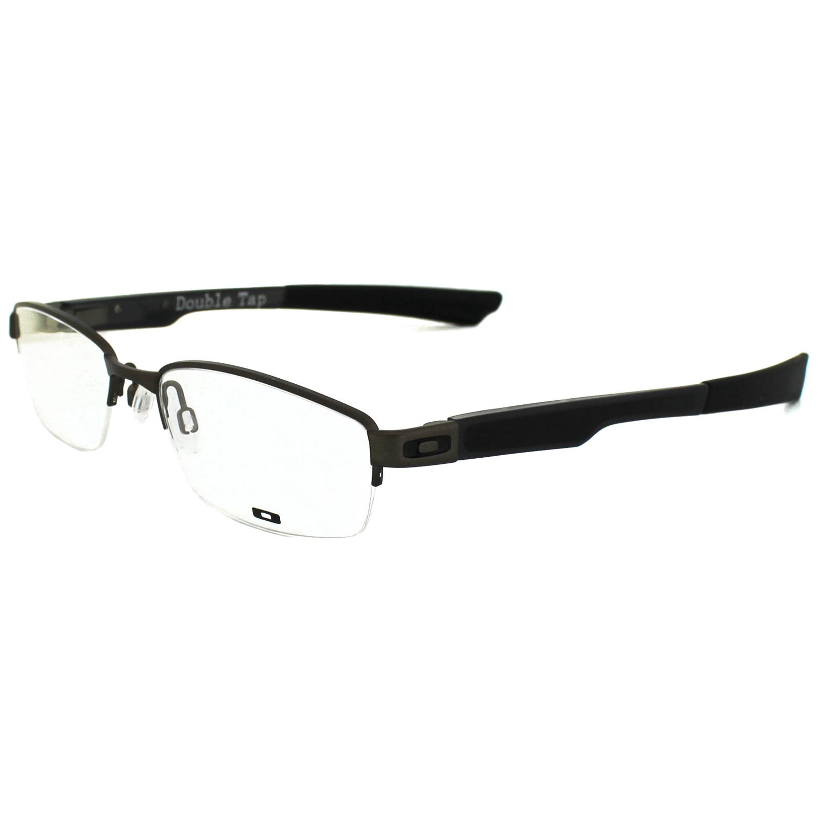 Oakley Glasses Frames Double Tap 3123-02 Pewter | eBay