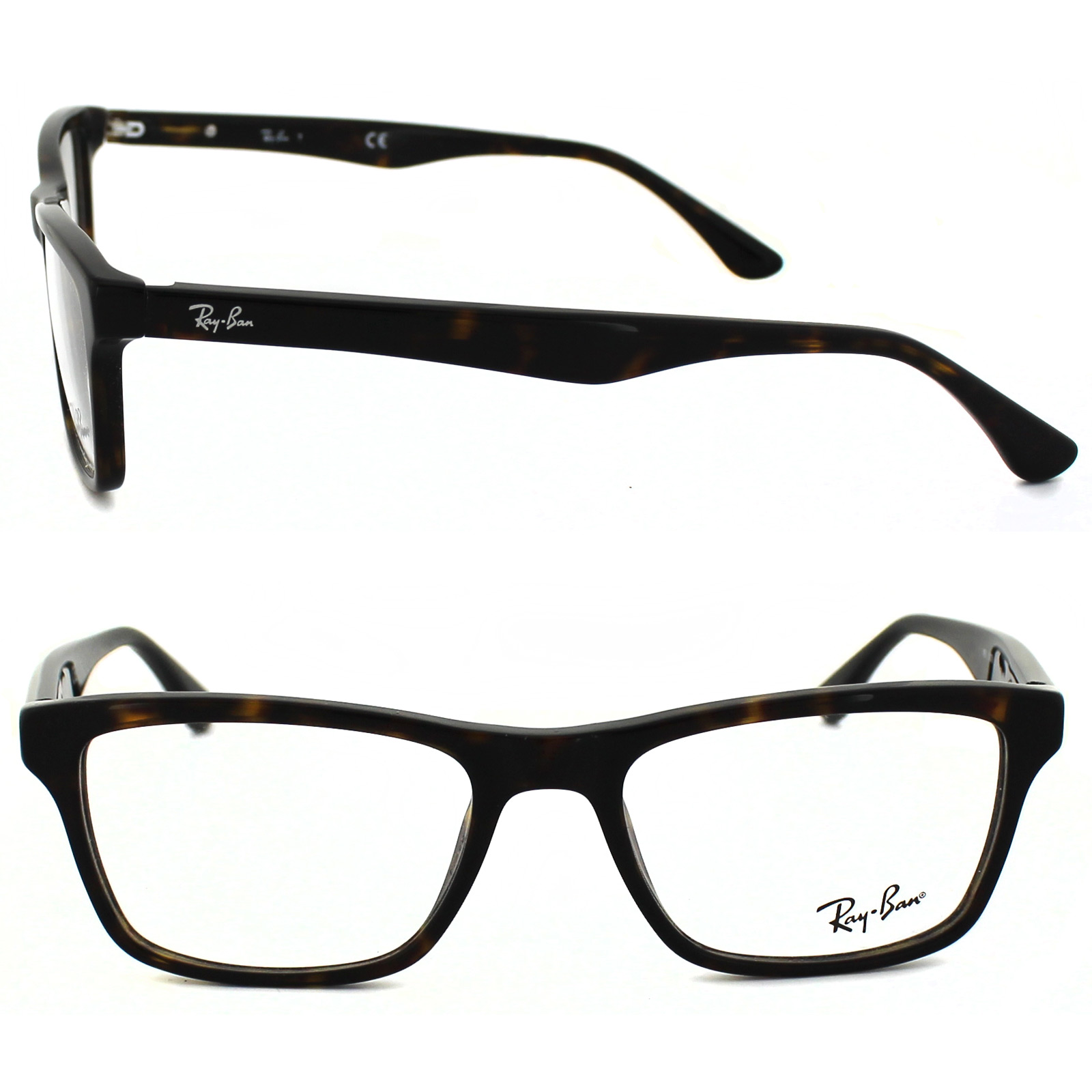 7b2e89a7d2 Ray-Ban Glasses Frames 5279 2012 Dark Havana 713132442982