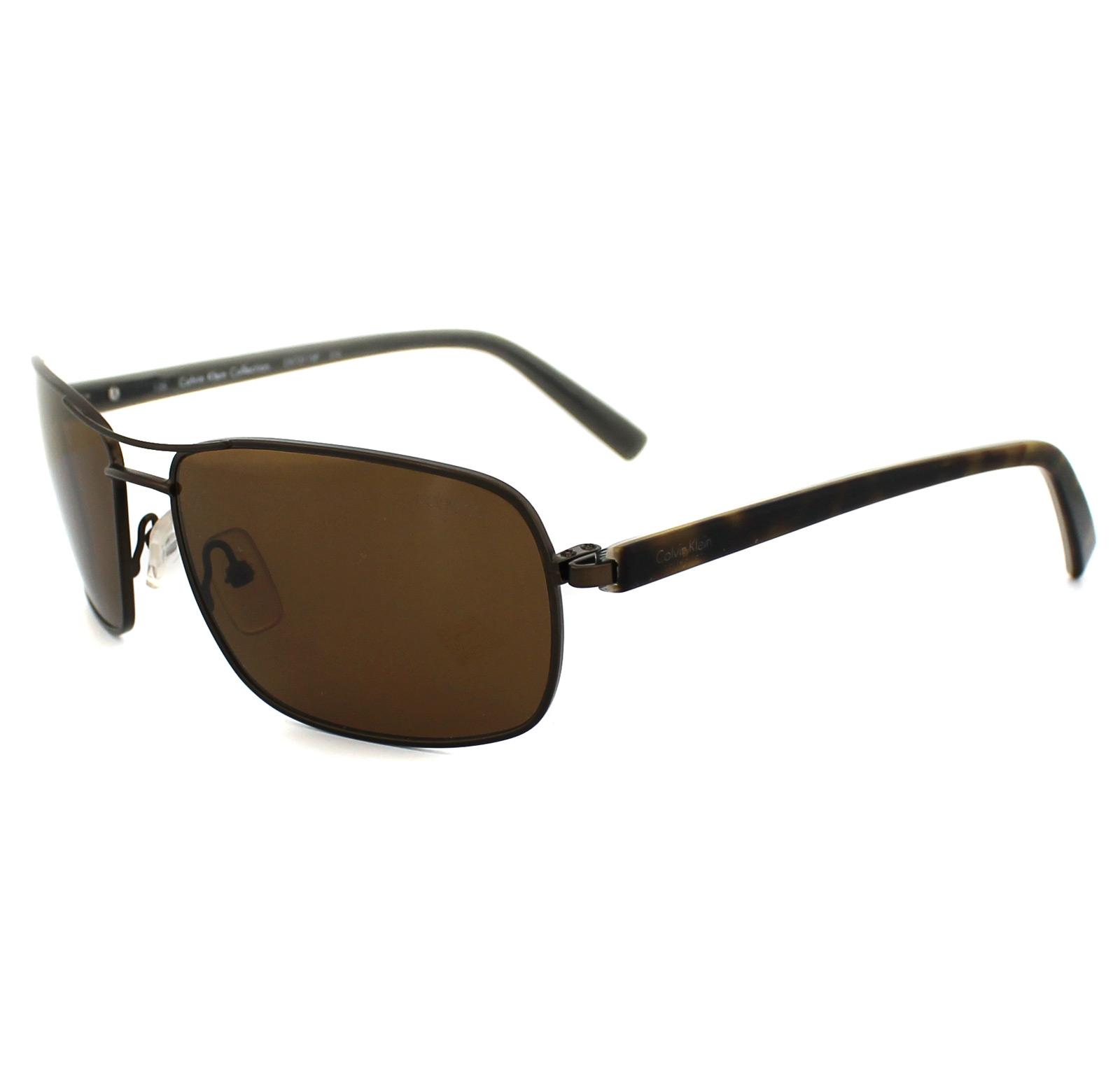 8df483188e9 Sentinel Calvin Klein Sunglasses 7311SP 210 Brown   Havana Brown Polarized