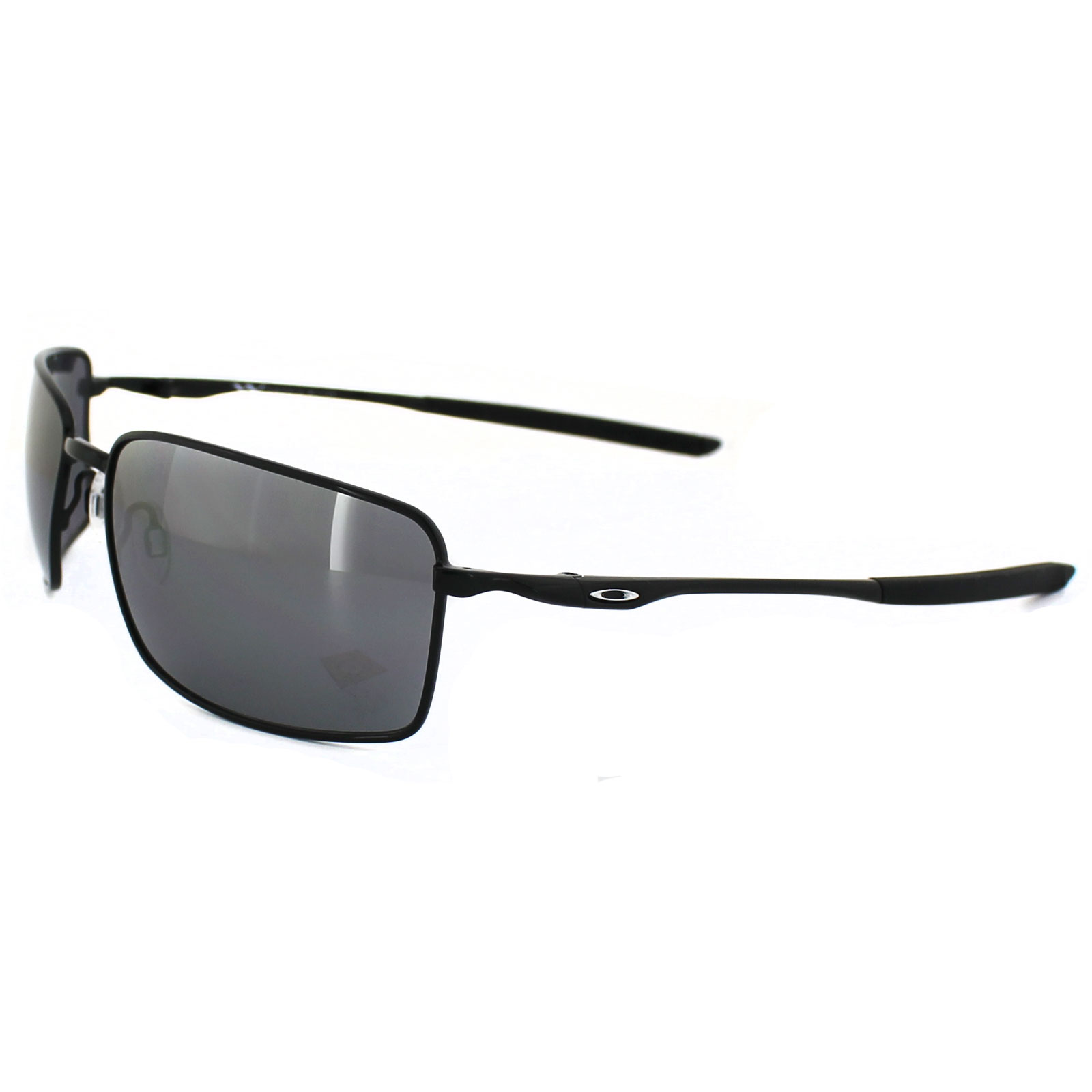 3e2eade87 Sentinel Oakley Sunglasses Square Wire OO4075-01 Polished Black Black  Iridium