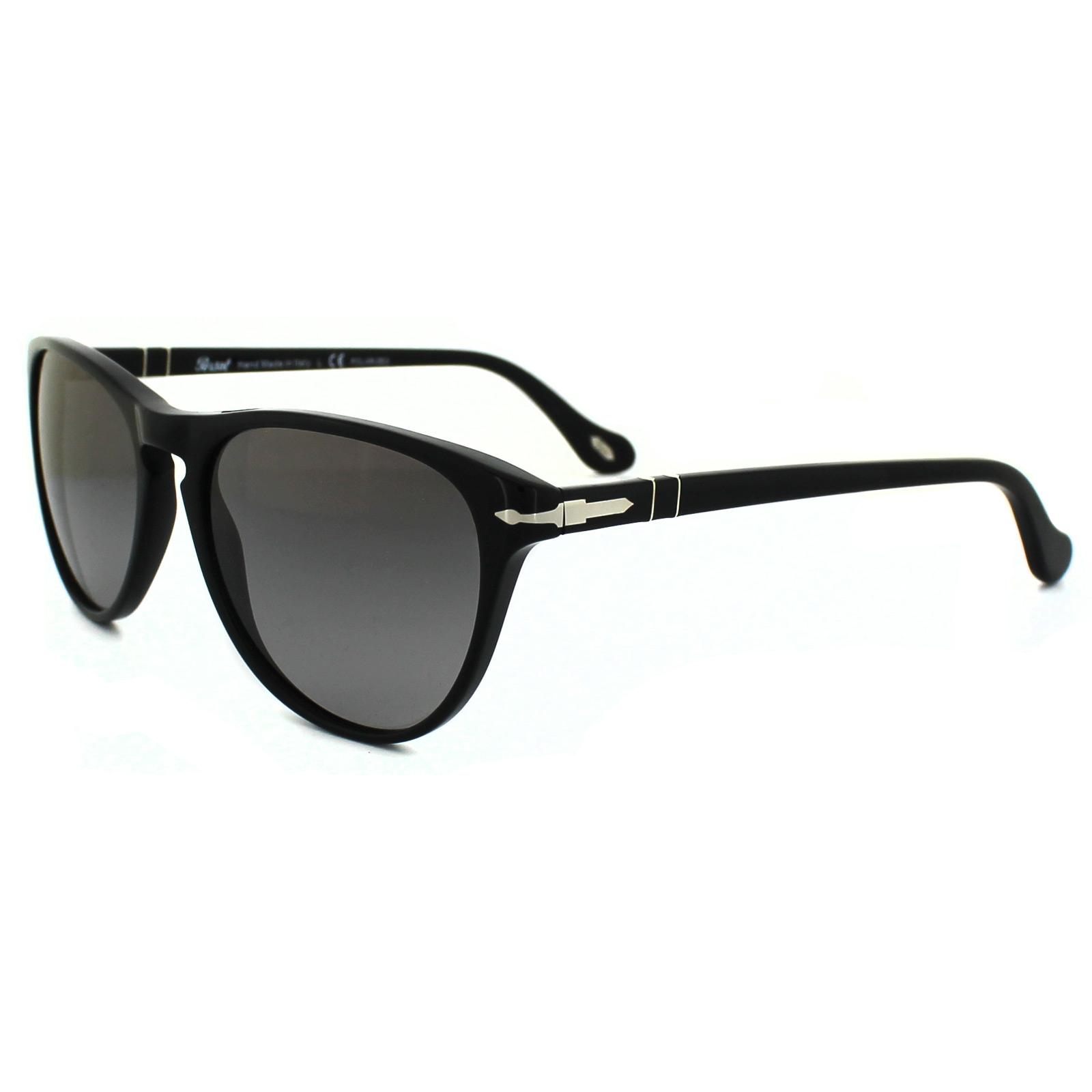 dc69cde15eb Sentinel Persol Sunglasses 3038 95 M3 Black Polarized Gradient Grey