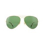 Ray-Ban Aviator 3025 Sunglasses Thumbnail 2