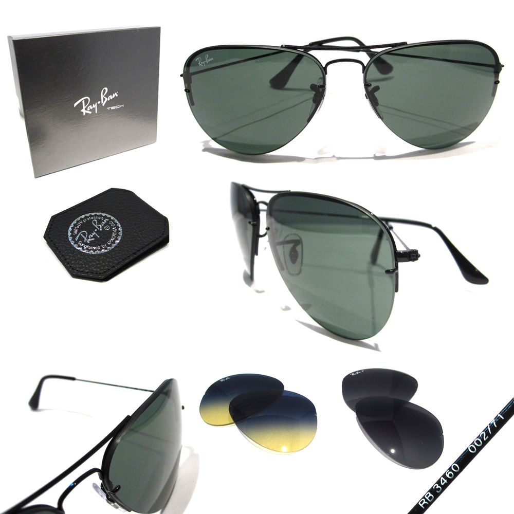 ray ban flip out 3460