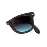 Ray-Ban Folding Wayfarer 4105 Sunglasses Thumbnail 5