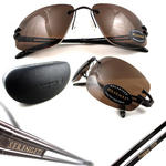 Serengeti Sunglasses Roggia 7078 Shiny Espresso Brown Driver Polarized Thumbnail 2