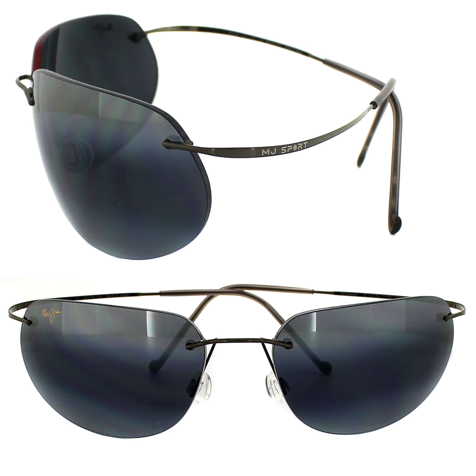 Maui Jim Sunglasses Kaanapali 501-02 Gunmetal Grey ...