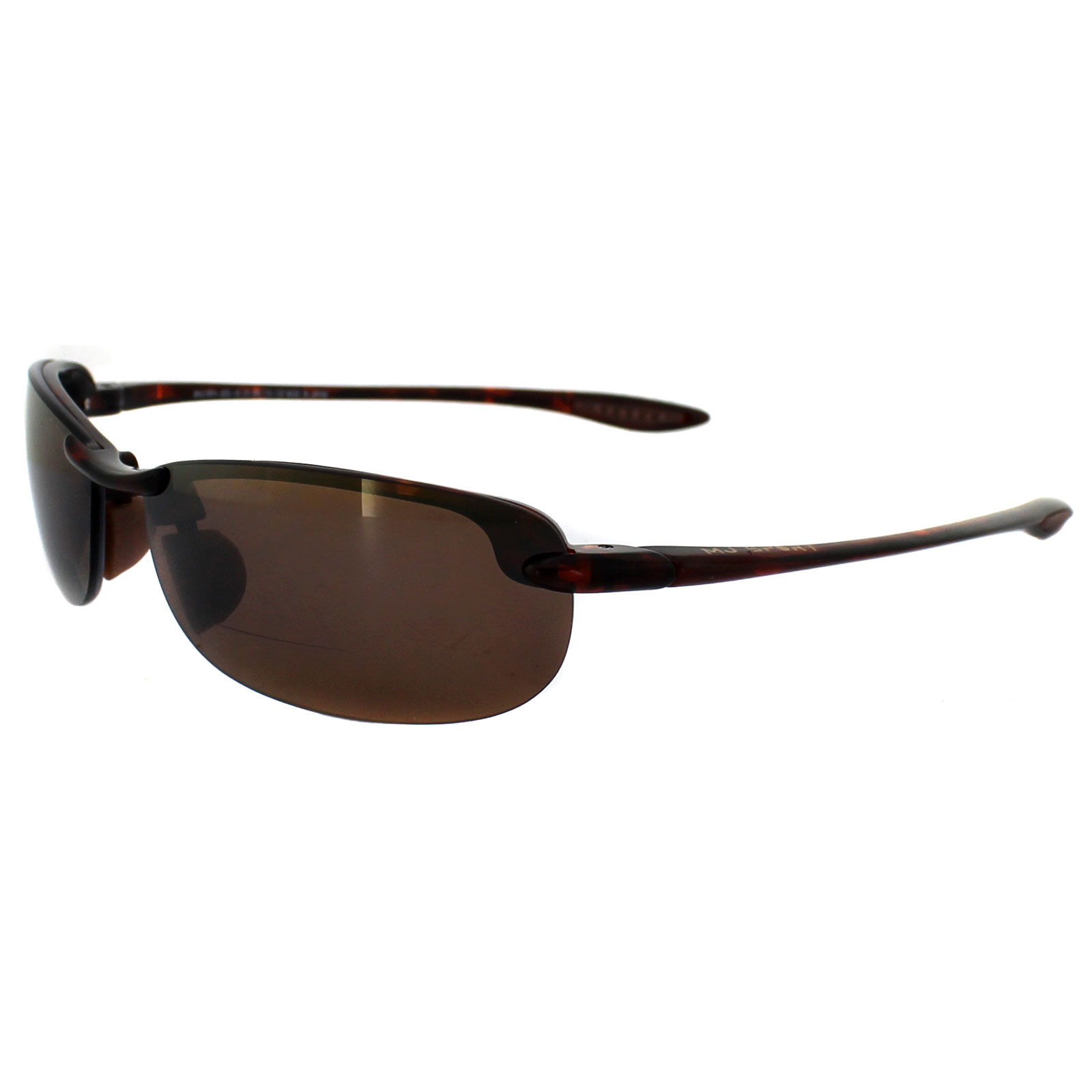 4e188efb242 Sentinel Maui Jim Sunglasses Makaha Readers H805-1020 Tortoise Bronze  Polarized +2.00