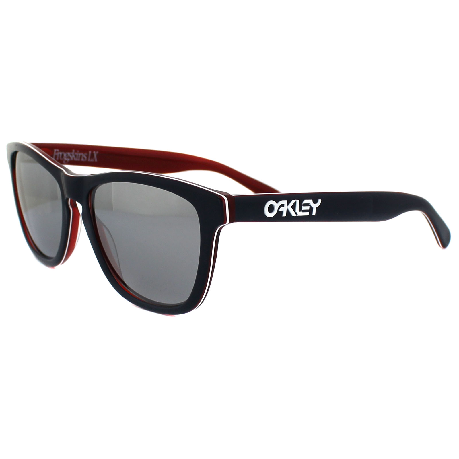 856b977548 Sentinel Oakley Sunglasses Frogskins LX OO2043-05 Navy Chrome Iridium