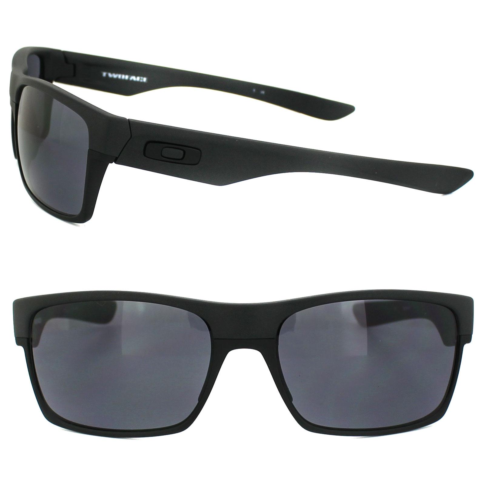 f6577830d5 Sentinel Oakley Sunglasses TwoFace OO9189-05 Steel Grey