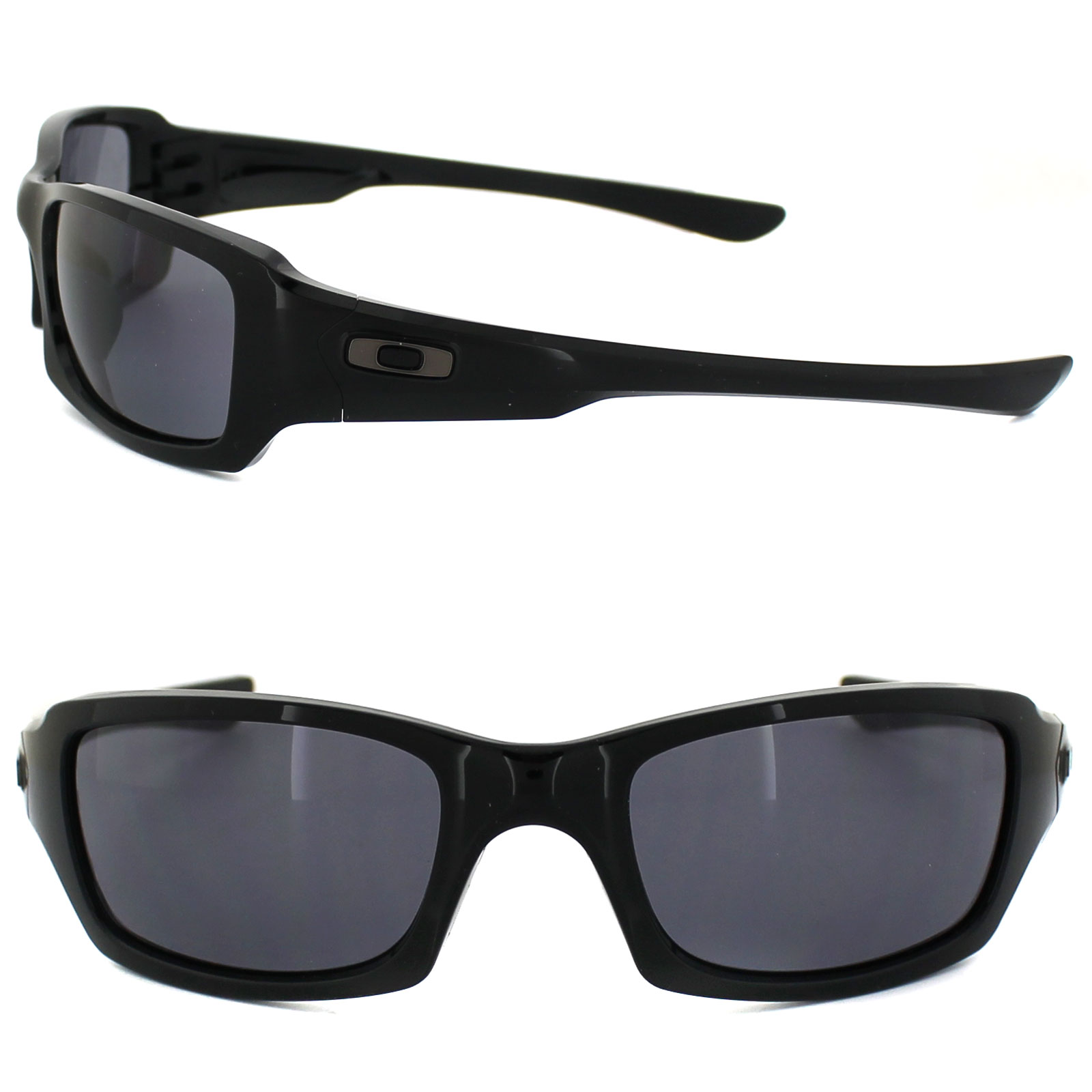 112bf6373e ... denmark sentinel oakley sunglasses fives squared oo9238 04 polished  black grey a3b8c d605a