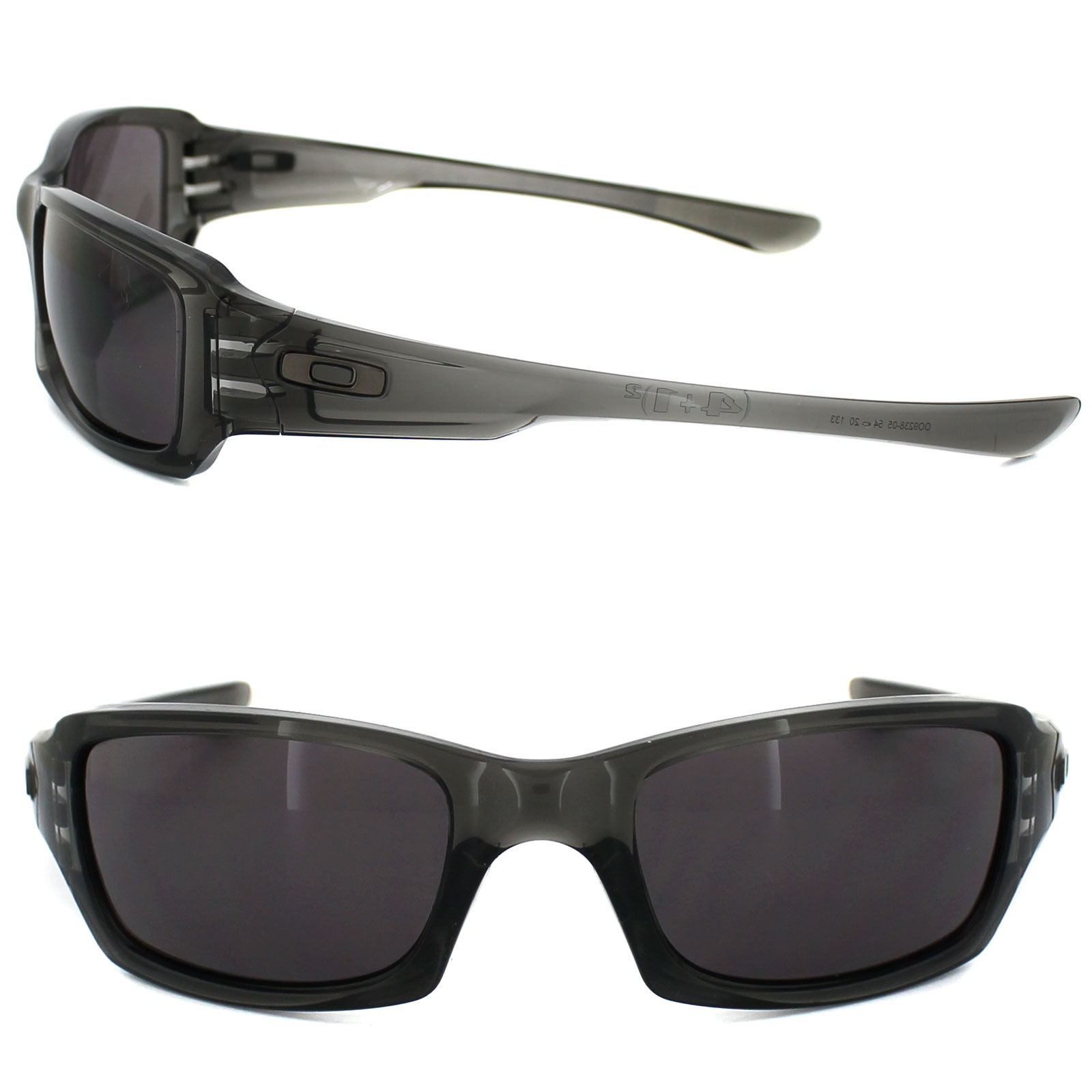 9cd7c62708d19 Sentinel Oakley Sunglasses Fives Squared OO9238-05 Grey Smoke Warm Grey