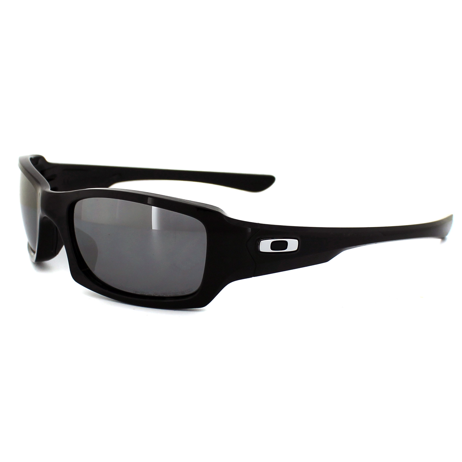 OAKLEY FIVES SQUARED Polished Black l Black Iridium Polarized 9238-06 v0PCo