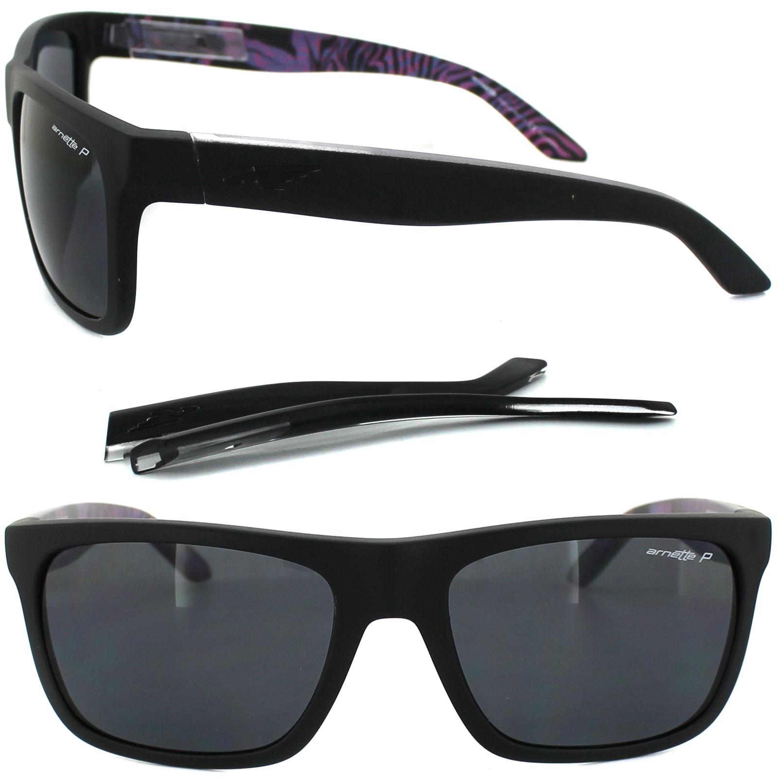 e4ccfaa437 Sentinel Arnette Sunglasses 4176 Dropout 222881 Matt Black Grey Polarized