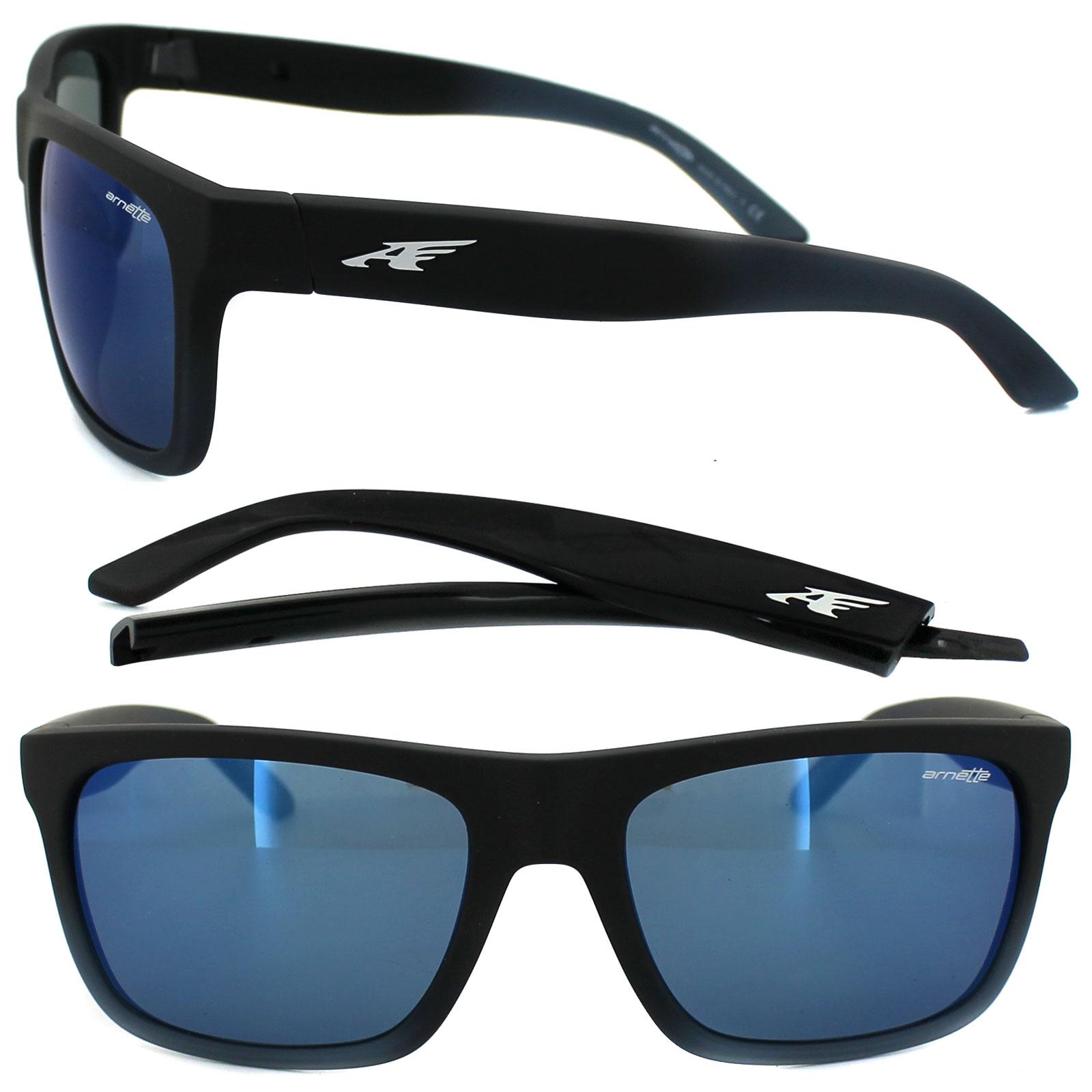 bb03989e4f Sentinel Arnette Sunglasses 4176 Dropout 225455 Fuzzy Black Fade to  Blueberry Blue Mirror