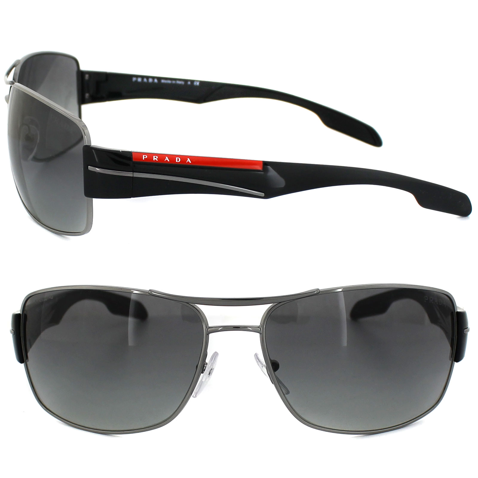 Prada PS53NS 5AV3M1 65 gunmetal / grey gradient m3XT1aLsFK