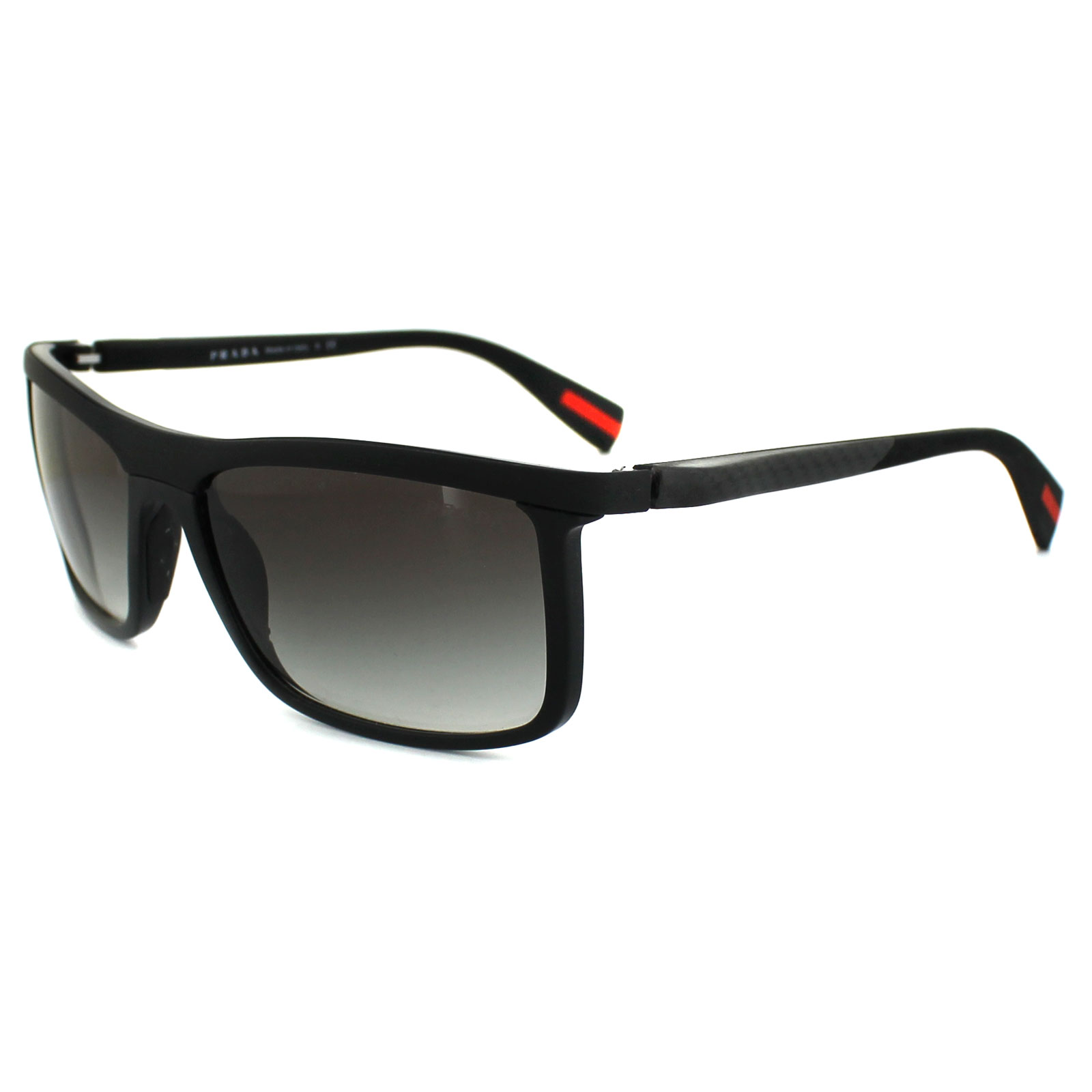 Prada Sport Sunglasses 51PS 1BO0A7 Black Grey Gradient ...