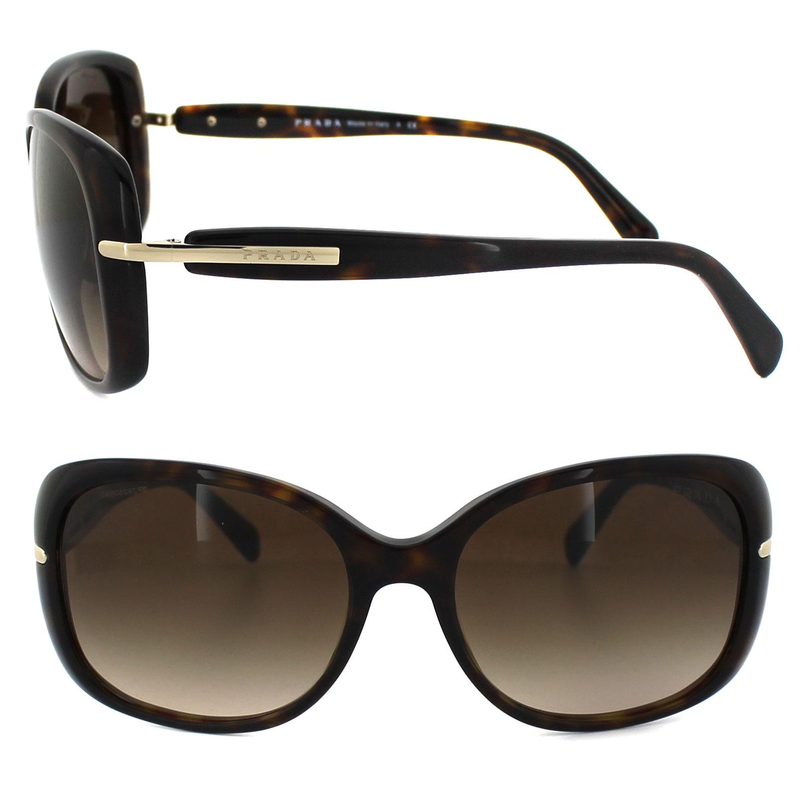 a299aa1111b85 Sentinel Prada Sunglasses 08OS 2AU6S1 Havana Brown Gradient