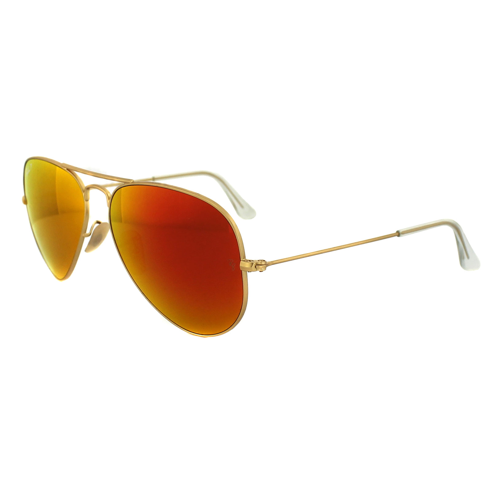 ray ban sonnenbrille gold rot