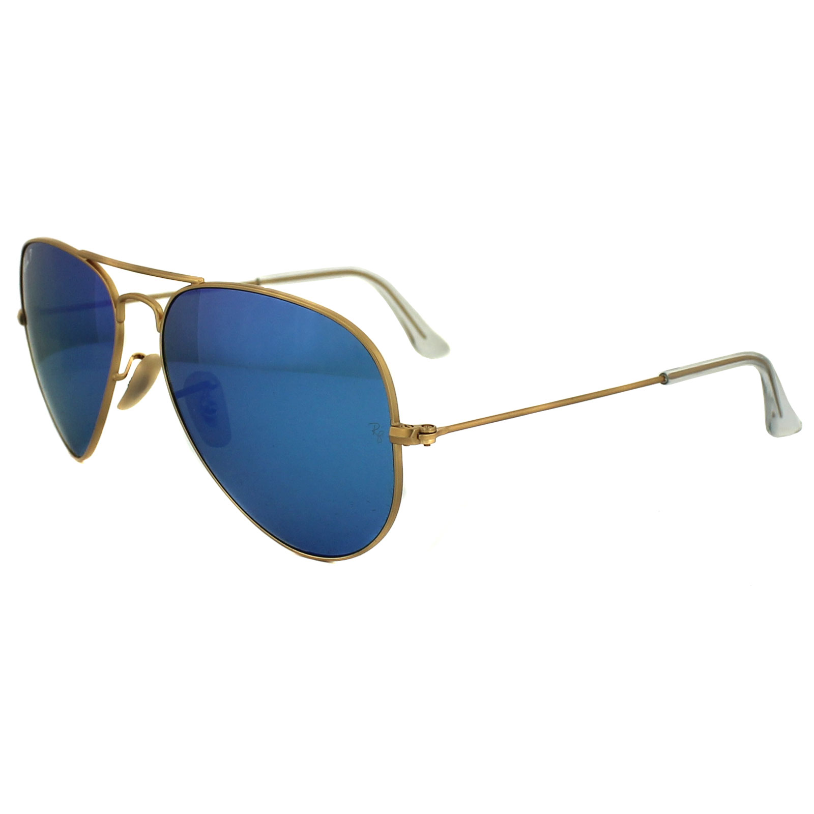42e9c6025 CENTINELA Gafas de sol de Ray-Ban aviador 3025 112 / 4L espejo azul oro mate